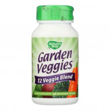 Natures Way Garden Veggies - 60 Vegetarian Capsules