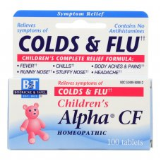 Boericke And Tafel Childrens Alpha Cf - 100 Tablets