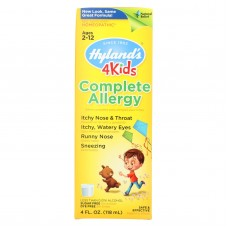 Hylands Complete Allergy 4 Kids - 4 Fl Oz