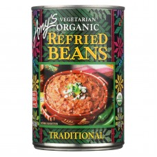Amys Organic Traditional Refried Beans - Case Of 12 - 15.4 Oz.