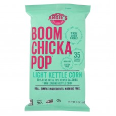 Angies Kettle Corn Boom Chicka Pop Lightly Sweet Popcorn - Case Of 12 - 5 Oz.