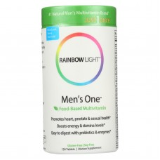 Rainbow Light Mens One Energy Multivitamin - 150 Tablets