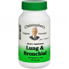 Dr. Christophers Lung And Bronchial - 450 Mg - 100 Vegetarian Capsules