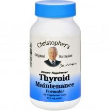 Dr. Christophers Thyroid Maintenance - 485 Mg - 100 Vegetarian Capsules