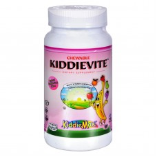 Maxi Health Chewable Kiddievite Natural Strawberry - 90 Chewables