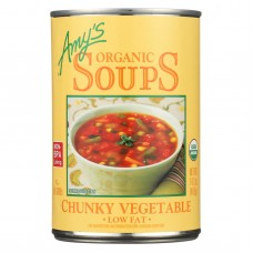 Amys Organic Chunky Vegetable Soup - Case Of 12 - 14.3 Oz