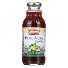 Lakewood Organic Noni Juice - Pure - Superfruit - 12.5 Oz