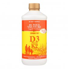 Buried Treasure Liquid D3 With K2 - 16 Fl Oz