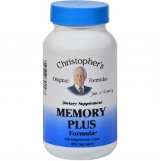 Dr. Christophers Original Formulas Memory Plus Formula - 450 Mg -100 Caps