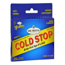 Dr. Shens Yin Chiao Coldstop Cold Or Flu - 15 Tablets