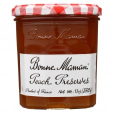 Bonne Maman Conserve - Peach - Case Of 6 - 13 Oz.