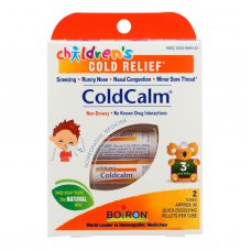 Boiron Childrens Cold Calm Pellets - 2 Doses