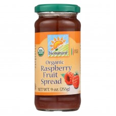 Bionaturae Fruit Spread - Raspberry - Case Of 12 - 9 Oz.