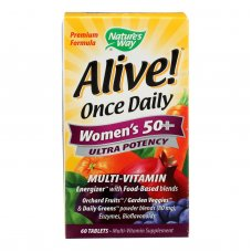 Natures Way Alive Once Daily Womens 50 Plus - 60 Tablets