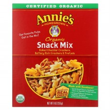 Annies Homegrown Organic Snack Mix Bunnies - Case Of 12 - 9 Oz.
