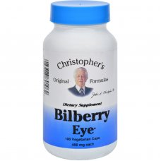 Dr. Christophers Bilberry Eye - 435 Mg - 100 Vegetarian Capsules