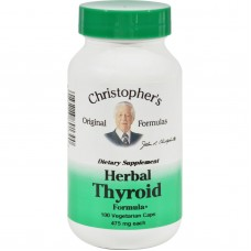 Dr. Christophers Herbal Thyroid - 475 Mg - 100 Vegetarian Capsules