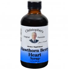 Dr. Christophers Hawthorn Berry Heart Syrup - 4 Fl Oz