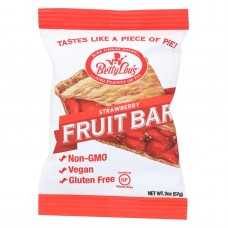 Betty Lous Fruit Bar - Strawberry - Gluten Free - Case Of 12 - 2 Oz