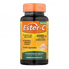 American Health Ester-c With Citrus Bioflavonoids - 1000 Mg - 45 Vegetarian Tablets