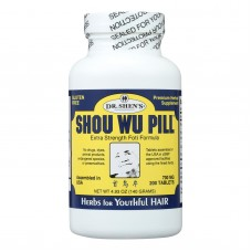 Dr. Shens Shou Wu Youthful Hair Pill - 700 Mg - 200 Tablets
