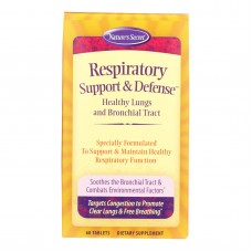 Natures Secret Respiratory Cleanse And Defense - 60 Tablets