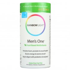 Rainbow Light Mens One Energy Multivitamin - 90 Tablets