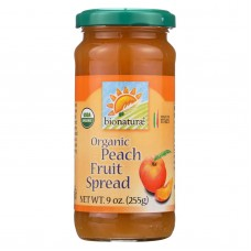 Bionaturae Fruit Spread - Peach - Case Of 12 - 9 Oz.