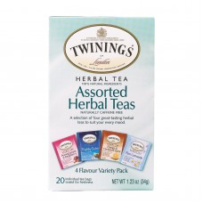 Twinings Tea Herbal Tea - Assorted Herbal Teas - Case Of 6 - 20 Bags