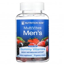 Nutrition Now Mens Gummy Vitamins Bold Fruit - 70 Gummies