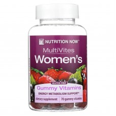 Nutrition Now Womens Gummy Vitamins Mixed Berry - 70 Gummies
