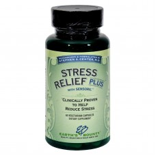 Earths Bounty Stress Relief Plus - 60 Vcaps