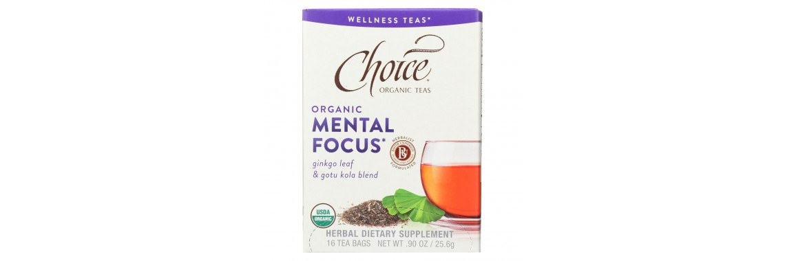Choice Organic Mental Focus Tea