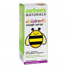 Zarbees All Natural Childrens Cough Syrup - Grape - 4 Oz
