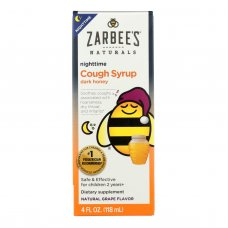 Zarbees All Natural Childrens Nightime Cough Syrup - Grape - 4 Oz