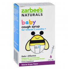 Zarbees Naturals Baby Cough Syrup - Grape - 2 Oz