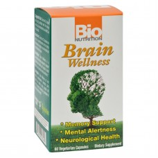 Bio Nutrition Brain Wellness - 60 Vegetarian Capsules
