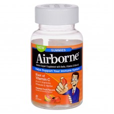 Airborne Vitamin C Gummies For Adults - Assorted Fruit Flavors - 21 Count