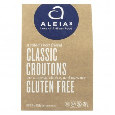 Aleias Gluten Free Classic Croutons - Case Of 6 - 8 Oz.