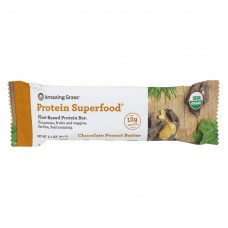 Amazing Grass Superfood Protein Bar - Chocolate Peanut Butter - Case Of 12 - 2.2 Oz.