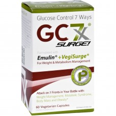 Gc7x Weight And Metabolism Surge - With Caffeine - 60 Vegetarian Capsules