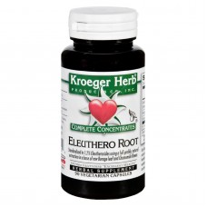 Kroeger Herb Complete Concentrate - Eleuthero Root - 90 Vegetarian Capsules
