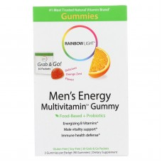 Rainbow Light Mens Multivitamin - Energy - Gummy - 30 Packets
