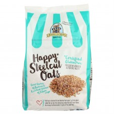 Bakery On Main Happy Steel Cut Oats - Case Of 4 - 24 Oz.