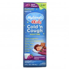 Hylands Homeopathic Cold N Cough - 4 Kids - Nighttime - 4 Oz