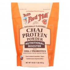 Bobs Red Mill Chai Protein Powder Nutritional Booster - 16 Oz - Case Of 4