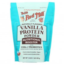 Bobs Red Mill Vanilla Protein Powder Nutritional Booster - 16 Oz - Case Of 4