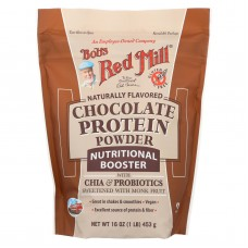 Bobs Red Mill Chocolate Protein Powder Nutritional Booster - 16 Oz - Case Of 4