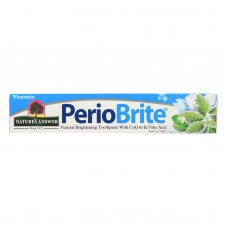 Natures Answer Periobrite Wintermint Natural Brightening Toothpaste  - 1 Each - 4 Oz