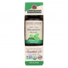 Natures Answer - Organic Essential Oil - Spearmint - 0.5 Oz.